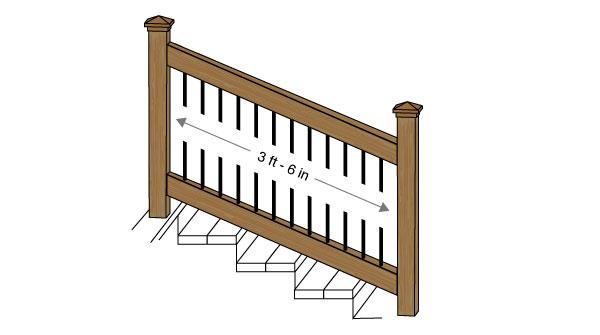 Stair Post Deck openings